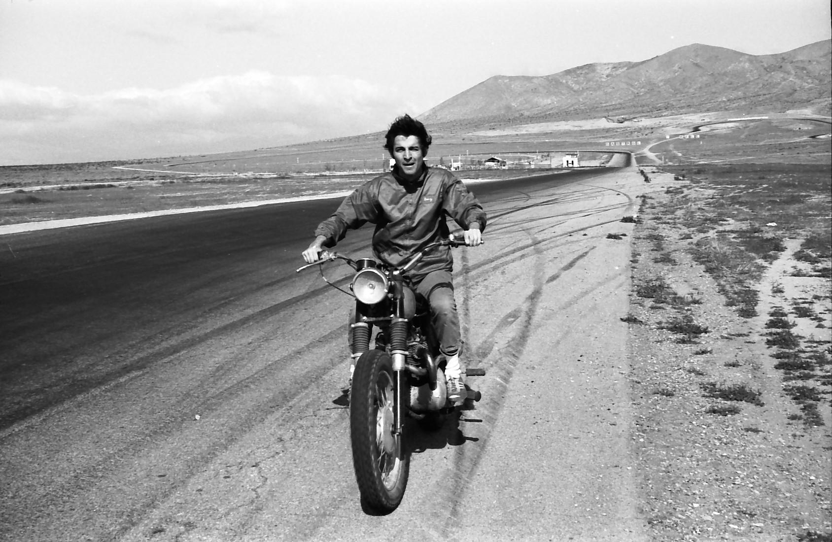 Douglas at Willow Springs circa 1969