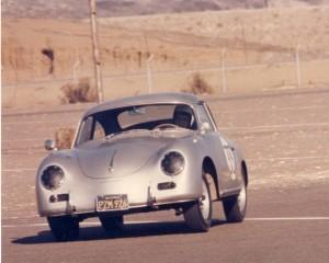 1956 Porsche 356A Coupe at POC Del Mar Time Trial