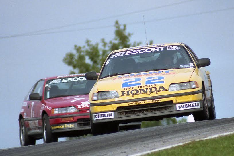 Giant Kirby Racing Honda Civic  Mid Ohio 1988