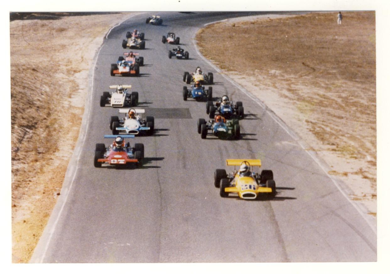 Laguna Seca North/South Runoffs 1971