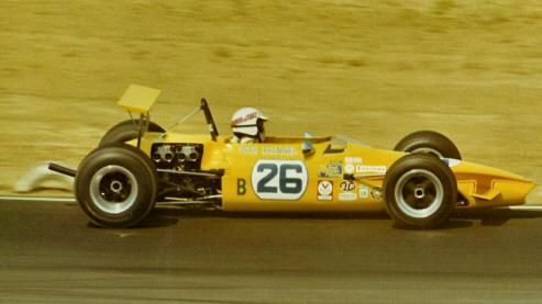Chevron B15b Riverside California 1970