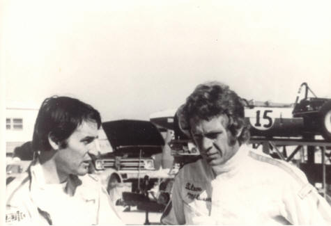 Douglas and Steve McQueen Holtville 1970