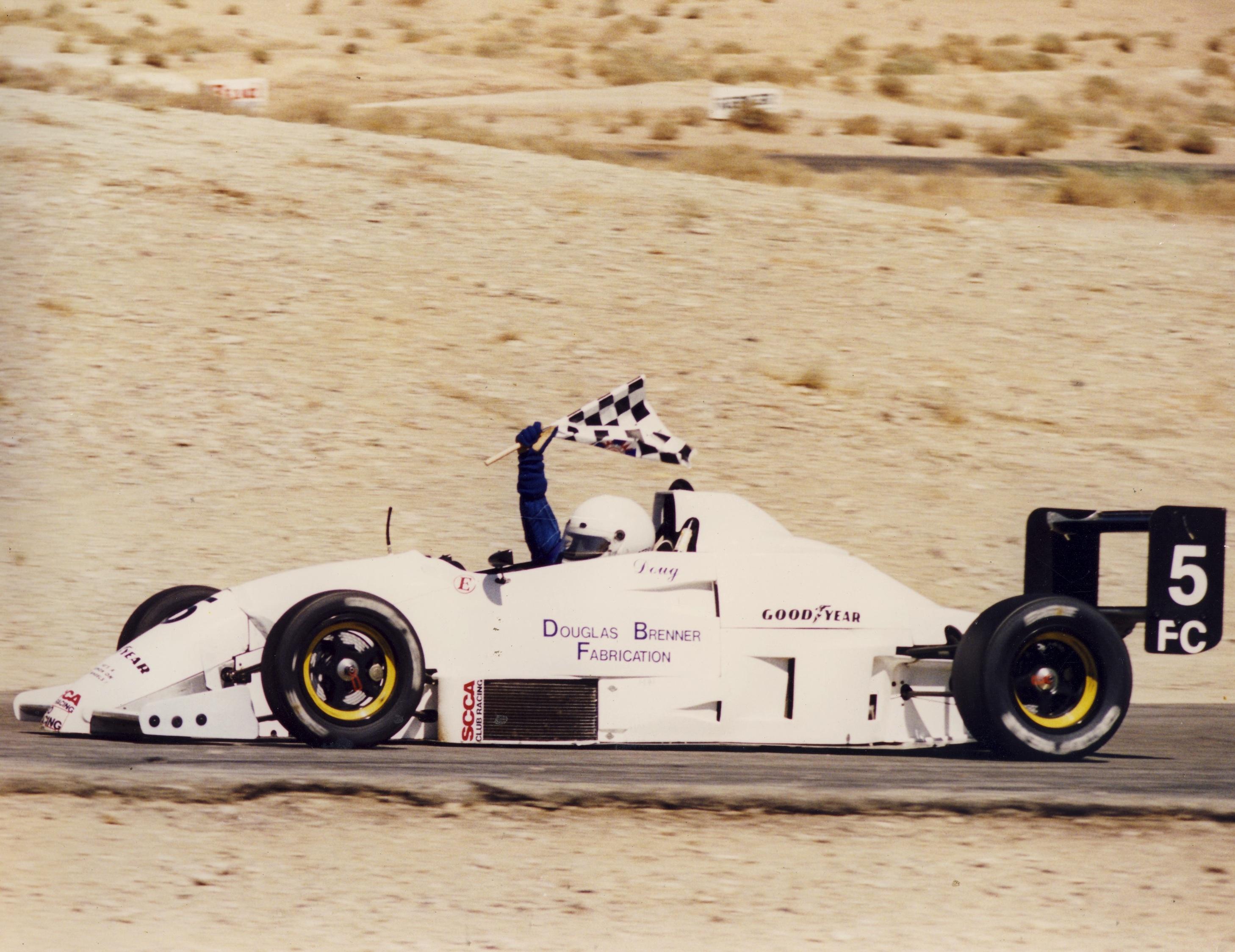 VanDiemen RF93 FC at Willow Springs California